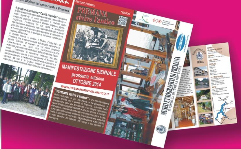 brochure museo premana 2013