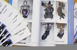 realizzazione catalogo fotografico mostra ferro battuto