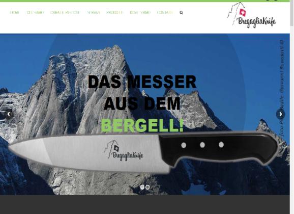 realizzato il nuovo sito bregagliaknife