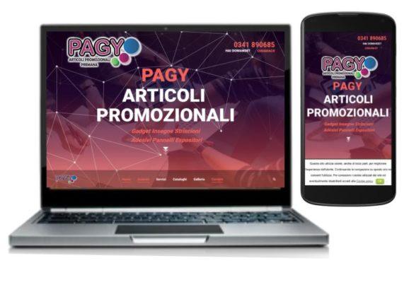 On line il nuovo sito Pagy.it
